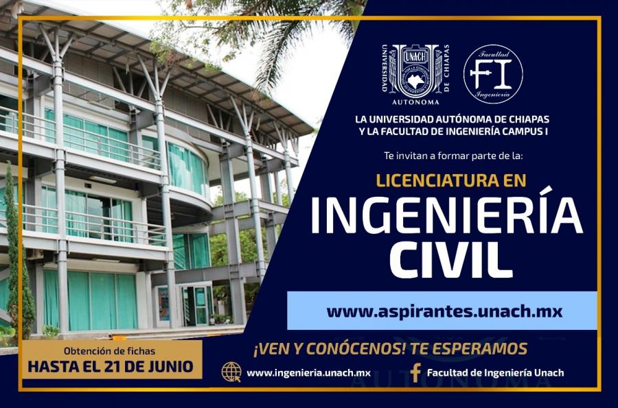 Promoción de la licenciatura en Ingeniería Civil